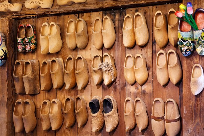 Try Dutch Clogs - Wooden Shoes - Itinerary for the Netherlands