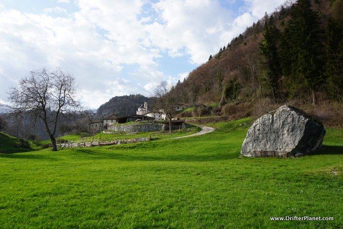 Piccoli Village ( Piccoli-Lavarone ) in Alpe Cimbra, Trentino, Italy