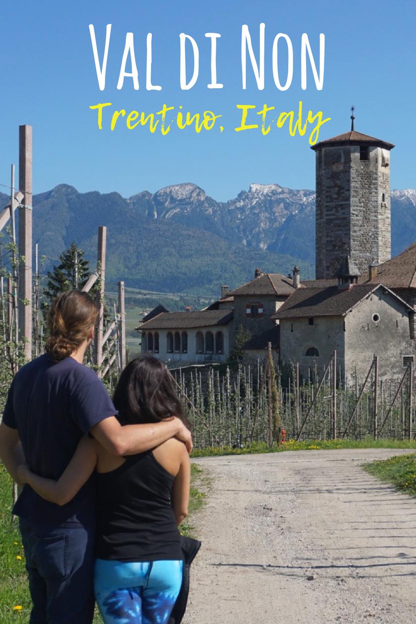 Romantic Castle Valer in Val di Non, Trentino, Italy