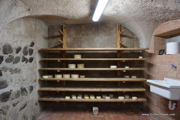 Inside La Cucolq - the Mini Cheese Factory in Cles, Val di Non, Italy