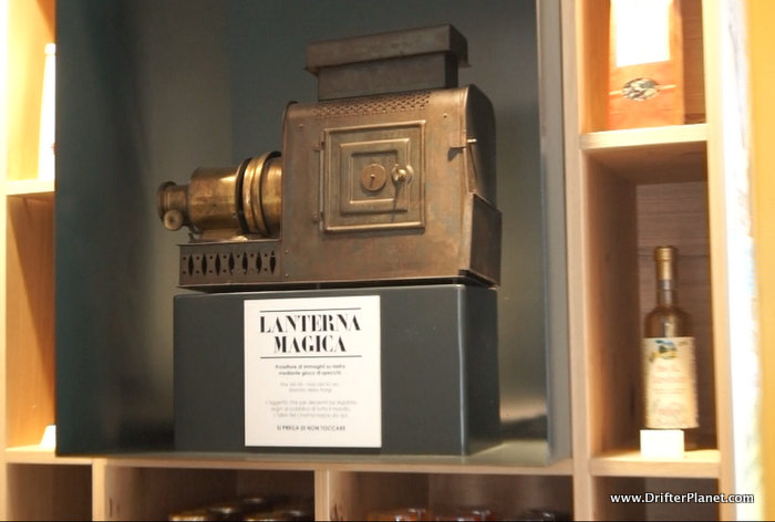 Inside Lanterna Magica - Cinema Themed cafe in Cles, Val di Non