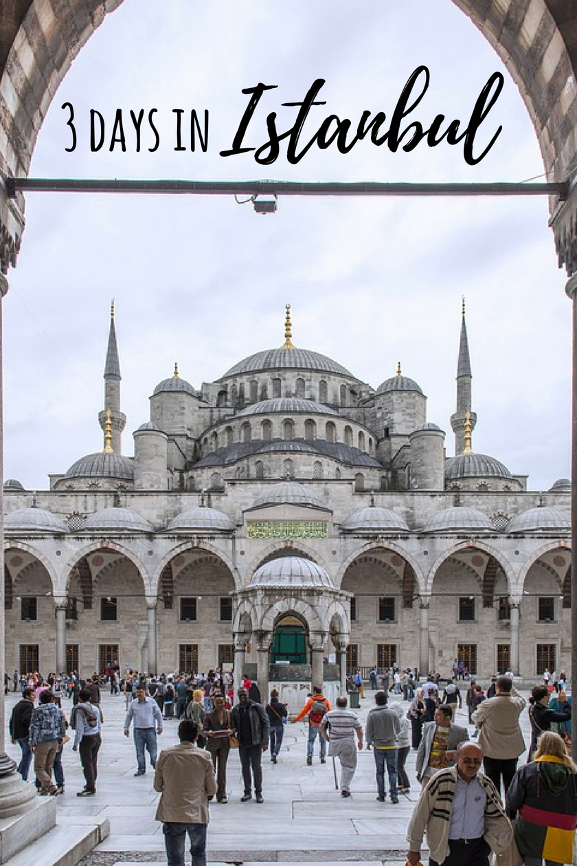 Inside Hagia Sophia - How to Spend 3 Days in Istanbul Itinerary, Turkey