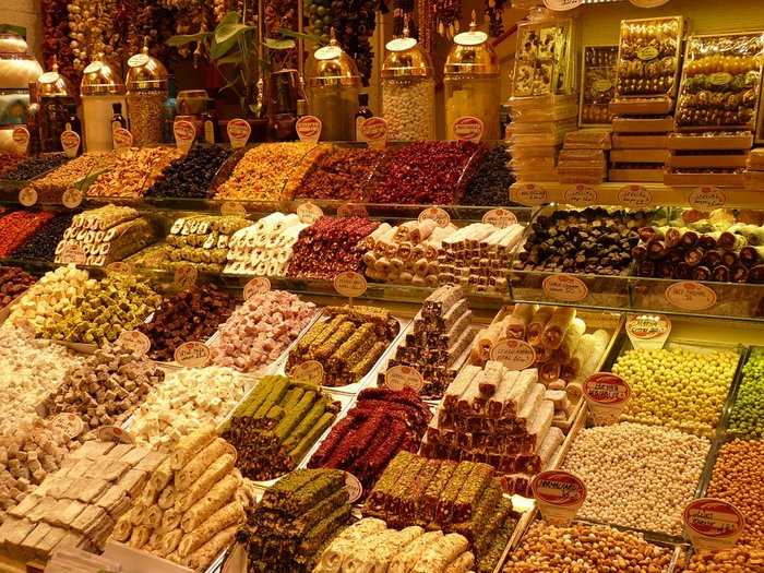 Turkish Delight and Food in Grand Bazaar in Istanbul - 3 days itinerary