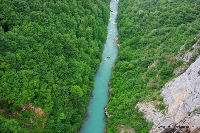 Tara River Canyon near Zabljak and Durmitor National Park, Montenegro