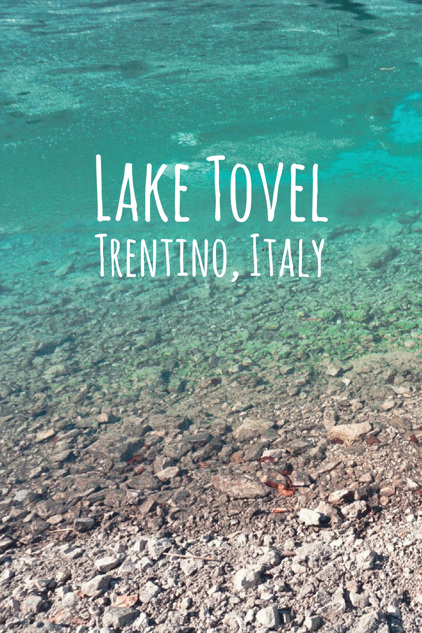 Lago di Tovel in Trentino, Italy
