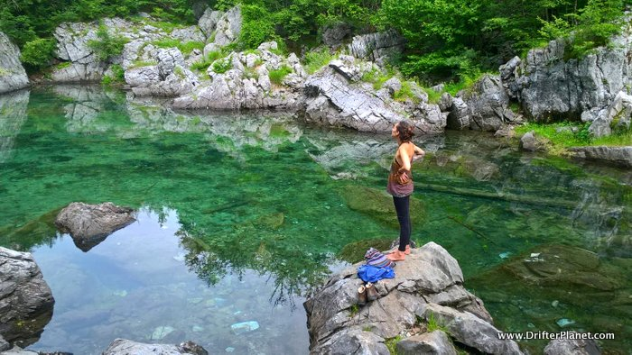 Valbona Lake in Albania - Travel the Balkans - by Robert Figgen