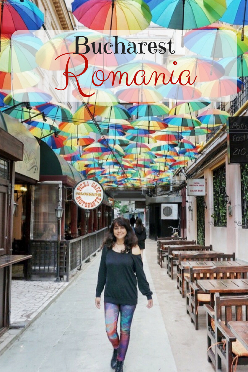Bucharest's Umbrella Alley - things to do in Bucharest, Romania