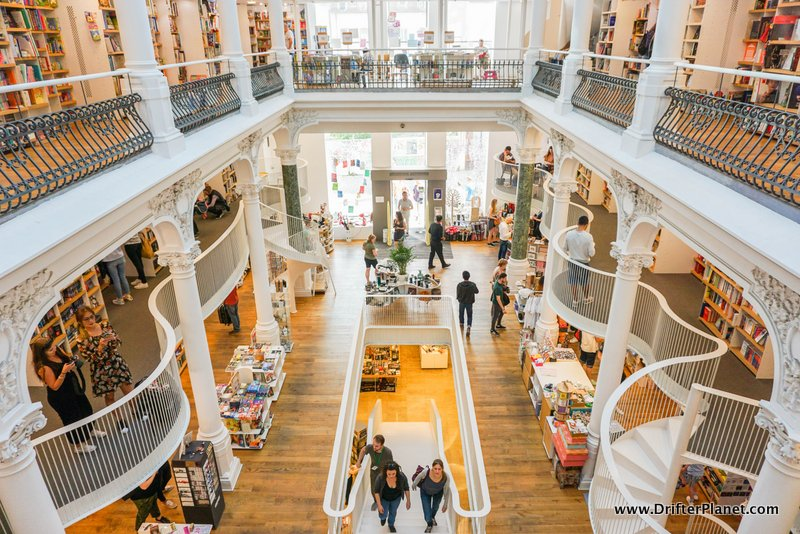 Carturesti Carusel in Bucharest - the most beautiful bookstore in the world
