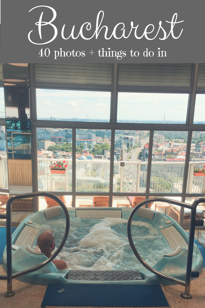 Rooftop Jacuzzi in Intercontinental Bucharest - things to do in Bucharest