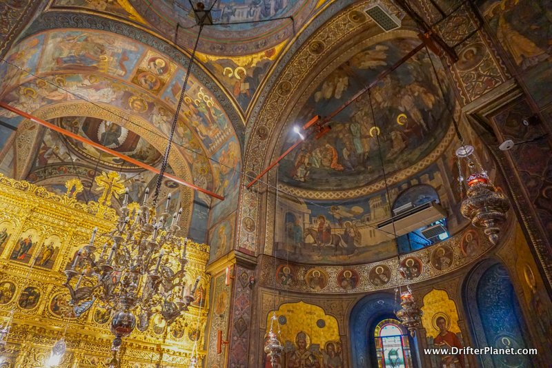 The Palace of the Patriarchate Church in Bucharest, Romania