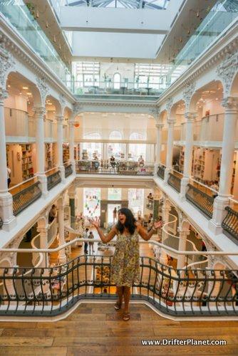 Inside Carturesti Carusel, Bucharest- the most beautiful bookstore in the world