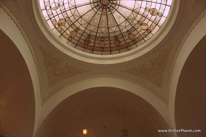 Inside Primaria Municipiului Bucuresti - the City Hall of Bucharest