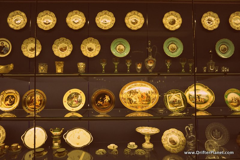 Inside the Museum of Ages in Bucharest, Romania