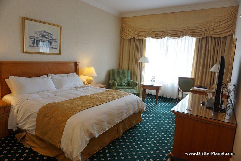 My Super comfortable bed in JW Marriott Bucharest, Romania
