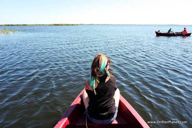 Slow Boat Ride in the Danube Delta area, Romania