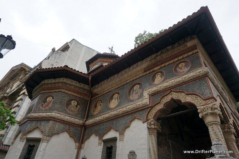 Stavropoleos Church Monastery in Bucharest's Old Town, Romania