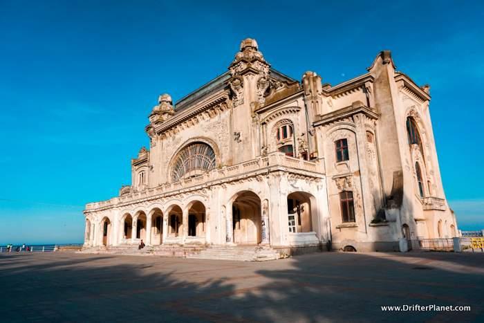 Abandoned Casino in Constanta, Romania