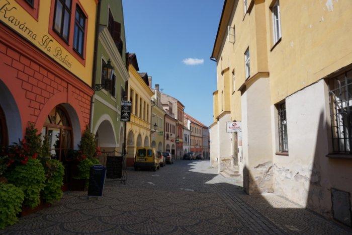 Chrudim town streets - the Czech Republic