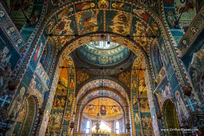 Inside Cathedral of Saints Peter and Paul, Constanta, Romania