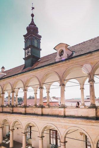 Inside Litomyšl Castle, Czech Republic