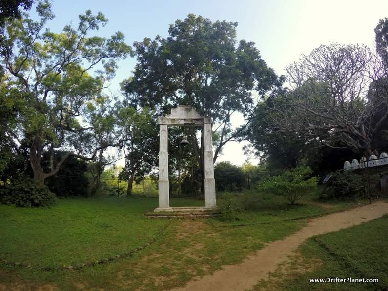 Inside Pidurangala Temple Complex