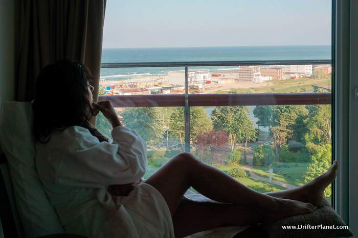 My Hotel Window at Ana hotels Eforie Nord, Constanta, Romania