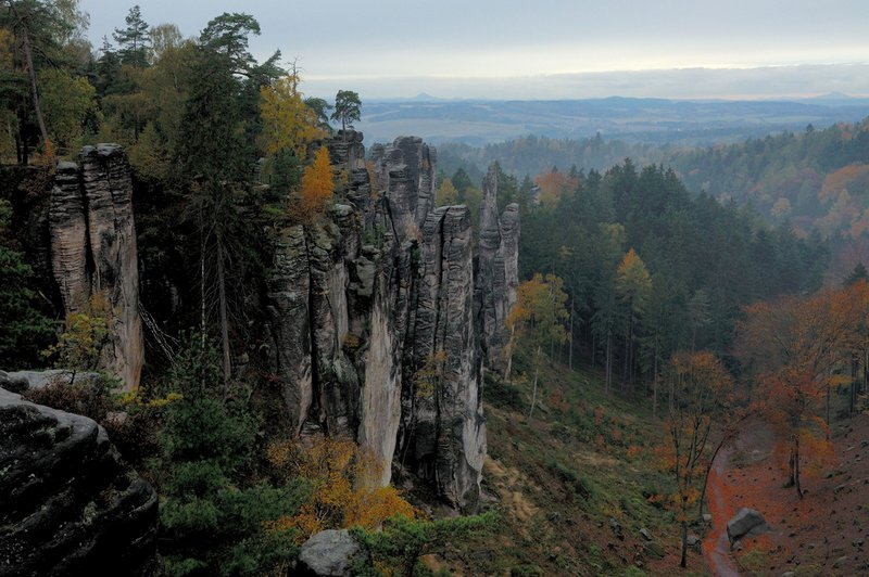 Prachov Rocks, Jicin, East Bohemia, Czech Republic