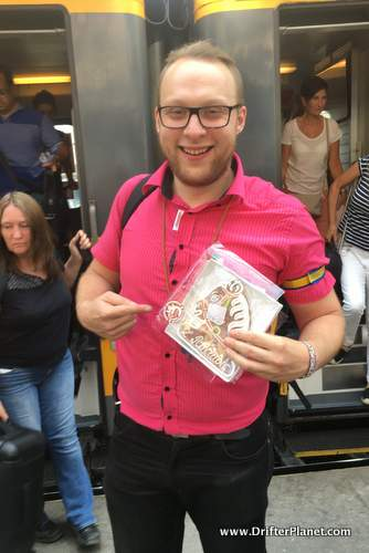 RegioJet Staff Member Who Helped me with my Luggage - Prague Travel Tips