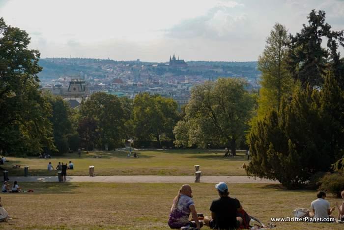 Riegrovy Sady Park in Vinohrady - Prague Neighbourhoods and Where to stay