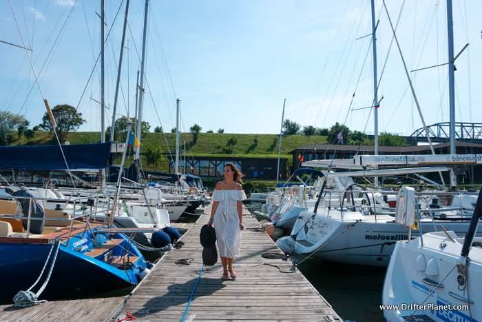 Sailing at Life Harbour, Limanu, Constanta, Romania