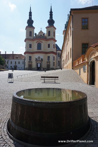Streets of Litomysl and the castle - East Bohemia