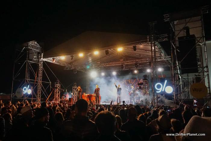 Subcarpati in Vama Libre Festival, Vama Veche, Constanta in Romania