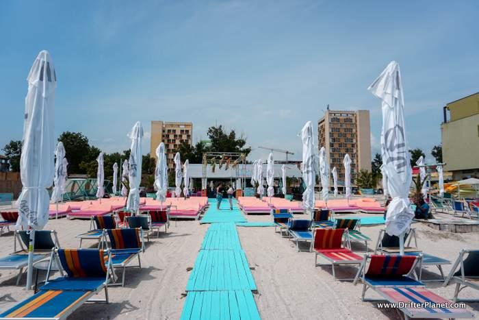 Tan Tan Beach Bar in Mamaia, Constanta, Romania