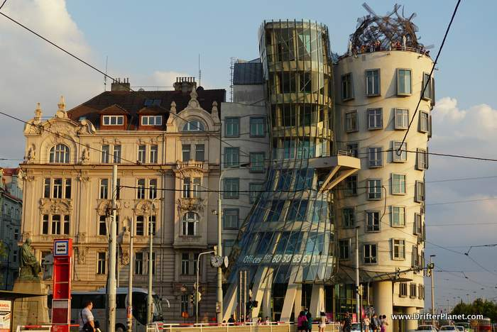 The Award Winning Dancing House Building in Prague