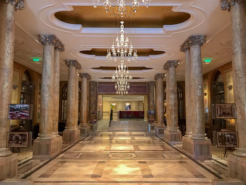 Athenee Palace Hilton Bucharest Entry area