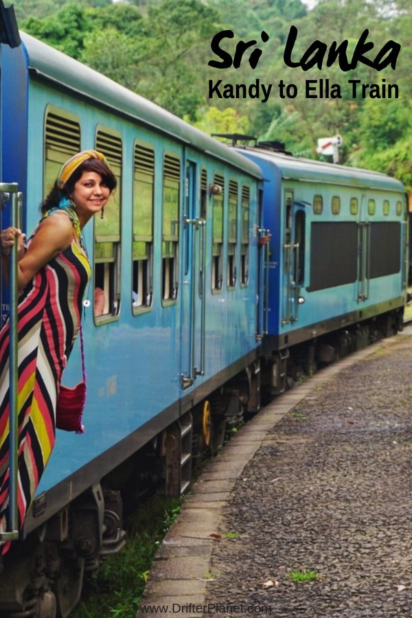 Kandy to Ella train route - Sri Lanka Train Itinerary - most beautiful train route