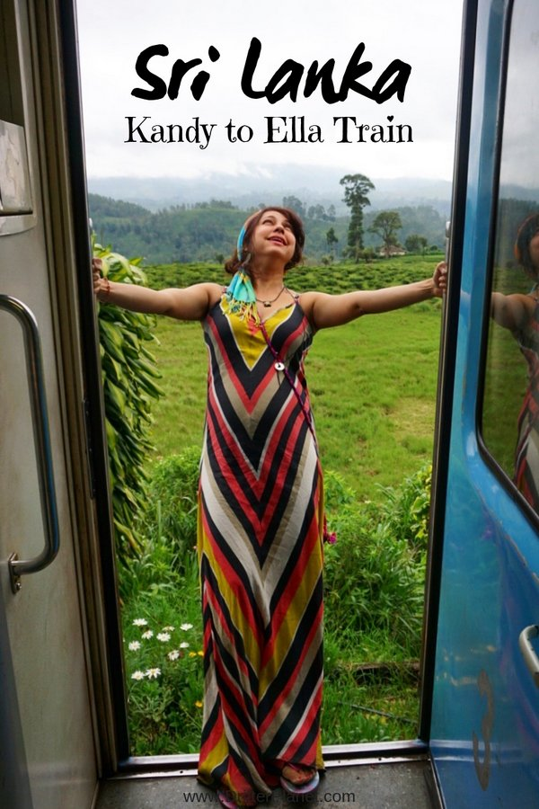 Kandy to Ella train route - Sri Lanka Train Itinerary