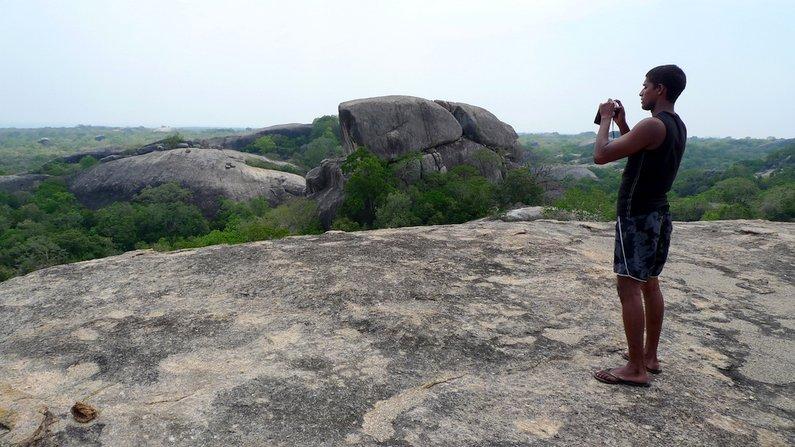 Kudumbigala Monastry Viewpoint - near Arugam Bay, Sri Lanka