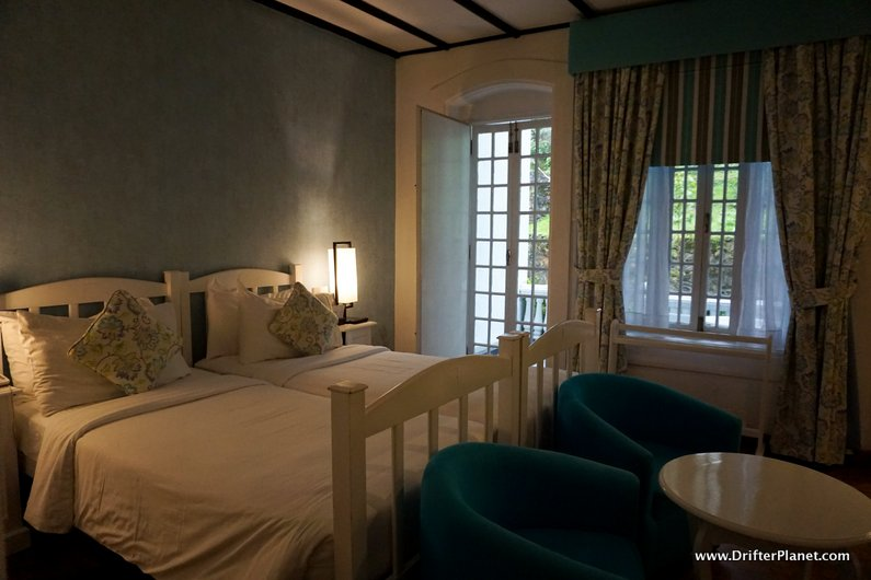 My lovely room in St Andrews Hotel Nuwara Eliya, Sri Lanka