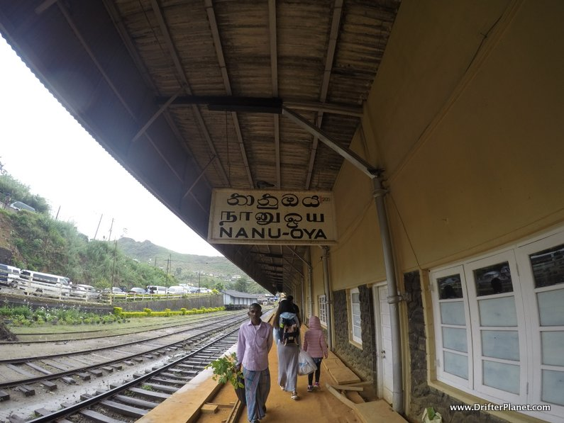 Nanu Oya train station - for Nuwara Eliya, Sri Lanka