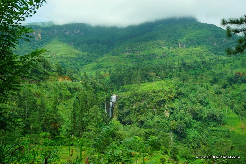 One of the many Nuwara Eliya Waterfalls, Sri Lanka