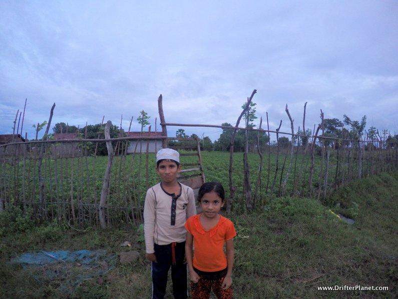 Our local friend's children in Arugam Bay Sri Lanka