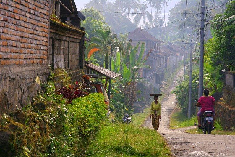 Villages of Ubud, Bali, Indonesia