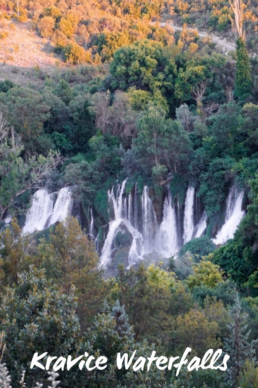 Kravice Waterfalls, Bosnia and Herzegovina The View from the top
