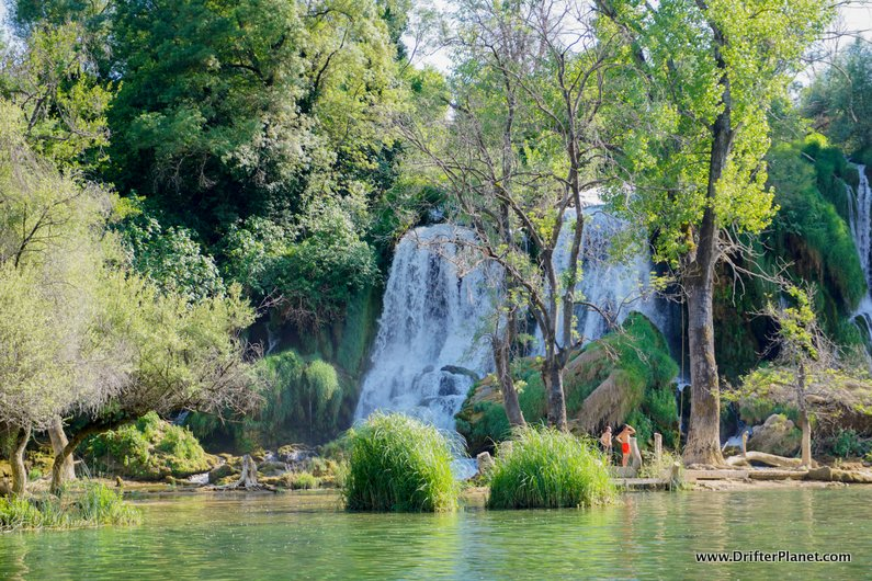 On the Other side of Kravice Waterfalls