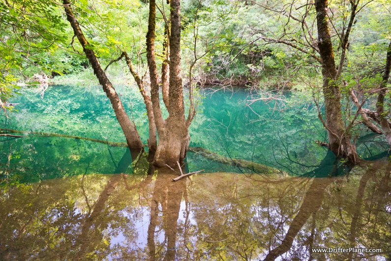 Walking along Trebizat River to Mala Kravica - Small Kravice