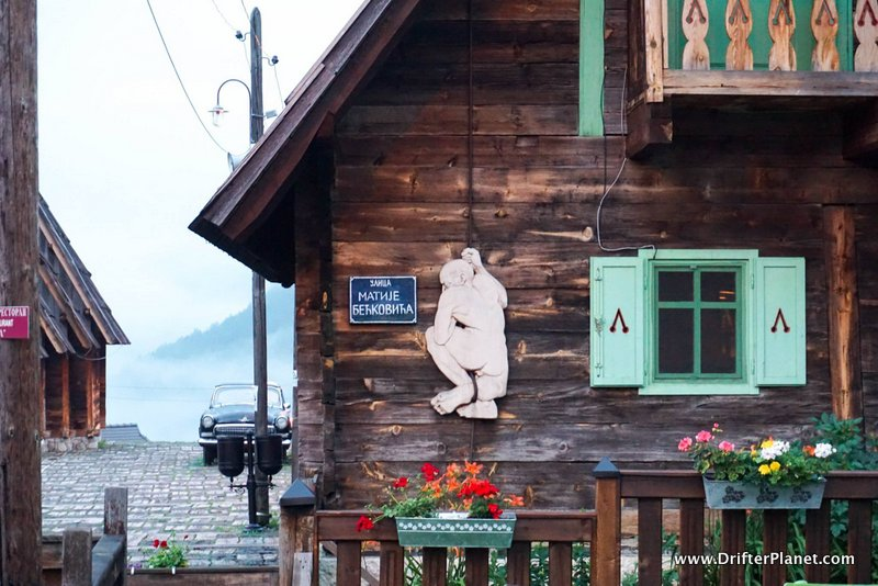 Drvengrad wooden village, Mokra Gora, Serbia