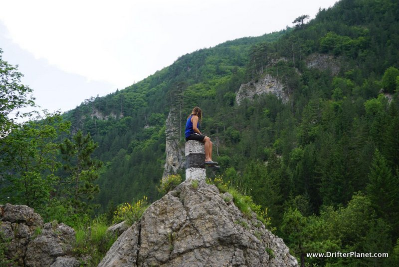 San on top of a hill in Tara National Park near Mokra Gora, Serbia