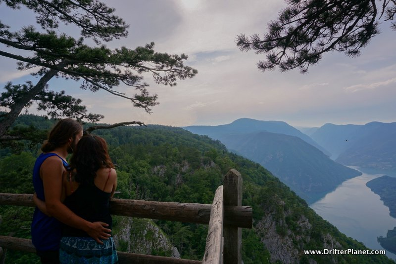 Banjska Stena Viewpoint in Tara National Park, Serbia