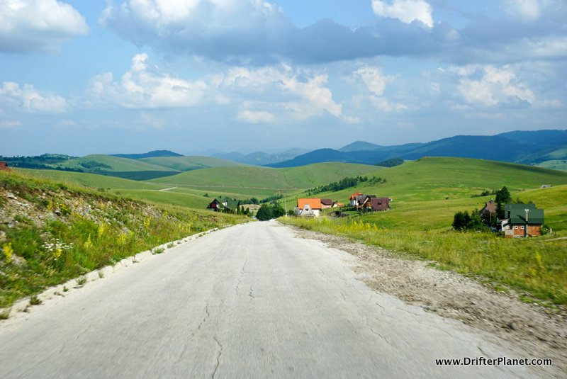 The Beauty of Driving Around in the Balkans - around Zlatibor in Serbia